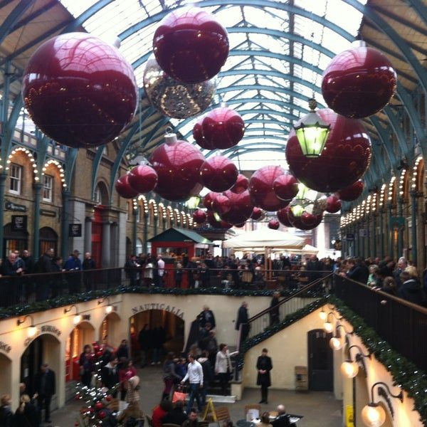 Photo taken at Covent Garden Market by Maria R. on 1/5/2013