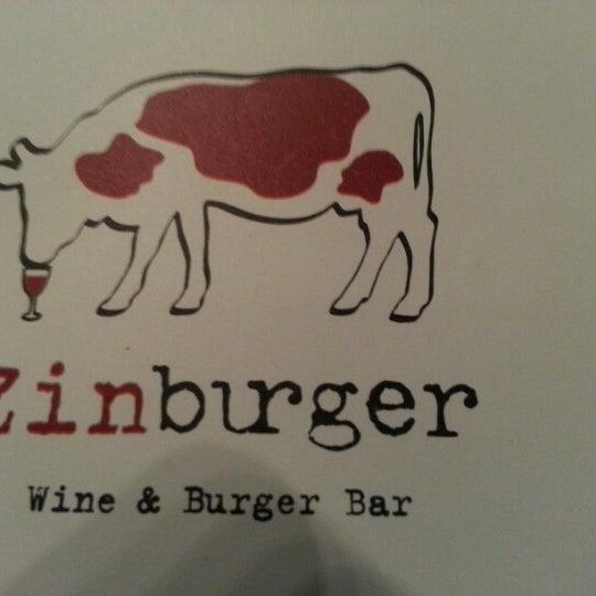Photo taken at Zinburger by Mike C. on 10/1/2012