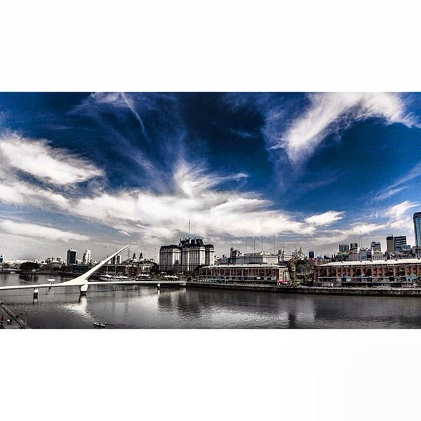 Photo taken at Puerto Madero by @StratosAthens on 9/1/2013