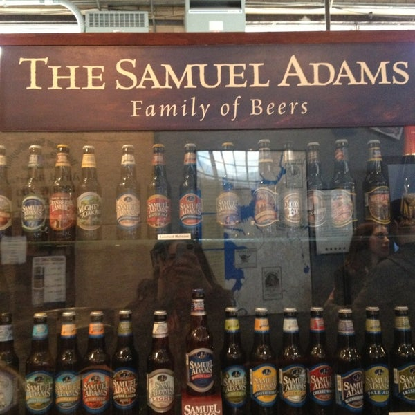 Photo taken at Samuel Adams Brewery by Tayler G. on 3/1/2013