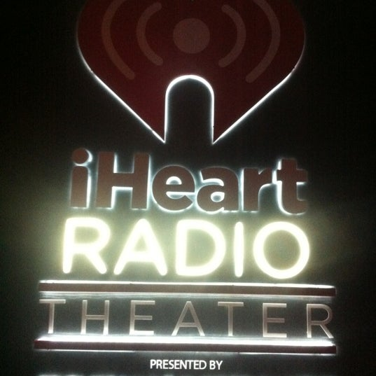 Photo taken at iHeartRadio Theater by Foster H. on 10/4/2012