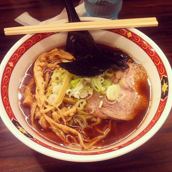 Photo taken at 味噌や 元住吉店 by ʕ•̫͡•ʔ on 5/28/2013