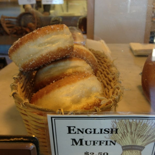 Photo taken at Model Bakery by Diana on 2/24/2013