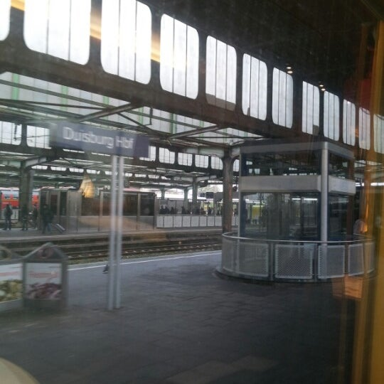Photo taken at Duisburg Hauptbahnhof by Marco D. on 10/31/2012