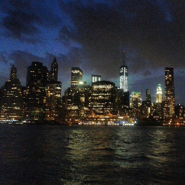 Photo taken at Brooklyn Bridge Park by Missfashion75 on 9/1/2013