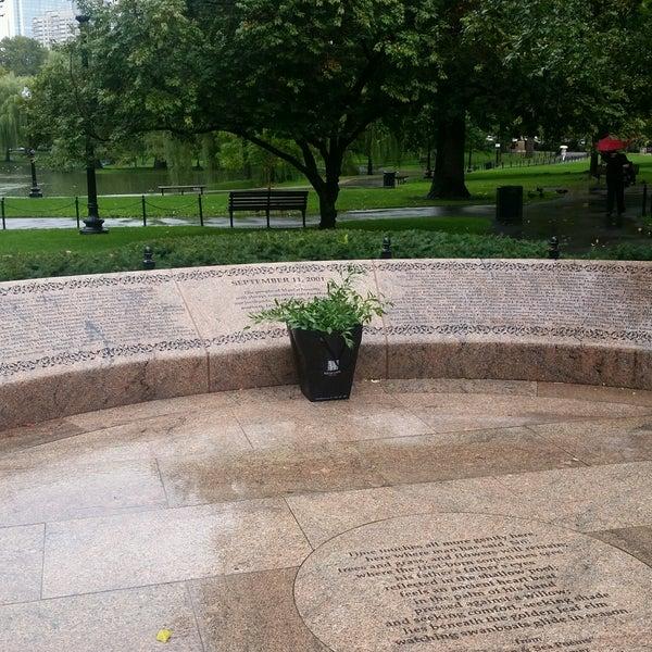 Photo taken at Massachhusetts 9/11/2001 Memorial by Riane . on 9/19/2016