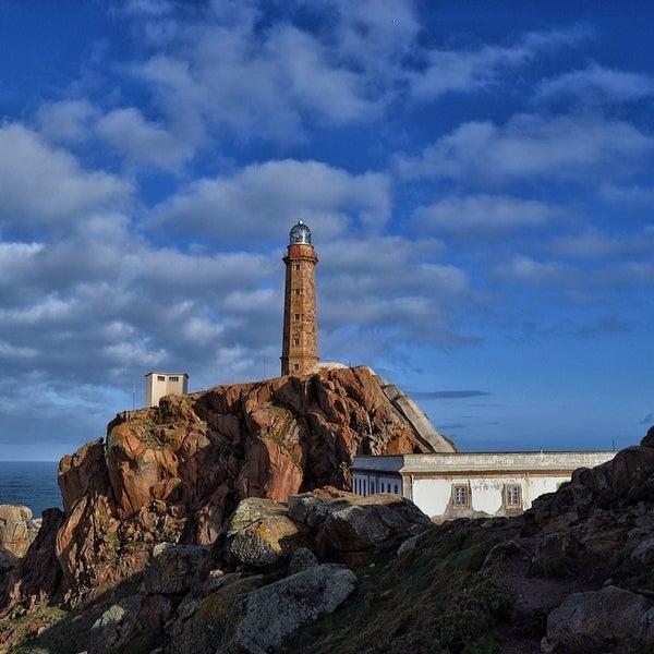 Photo taken at Faro de Cabo Vilán by Tania C. on 2/22/2014