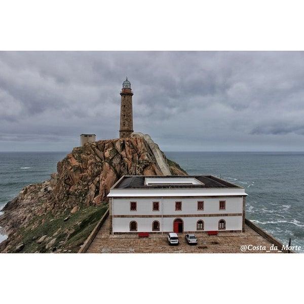 Photo taken at Faro de Cabo Vilán by Tania C. on 12/19/2014