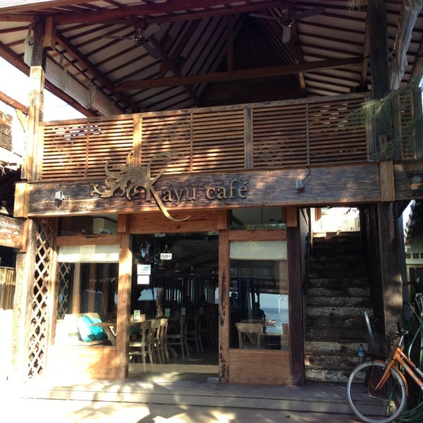Image result for kayu cafe gili trawangan