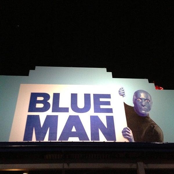 Photo taken at Blue Man Group at Universal CityWalk by Rafael C. on 3/29/2013
