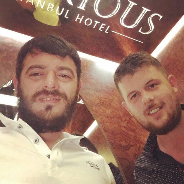 9/18/2016 tarihinde Rdvn Slhglziyaretçi tarafından Glorious Hotel Istanbul'de çekilen fotoğraf