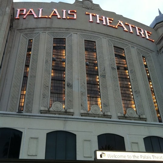 Photo taken at Palais Theatre by Jacqueline P. on 2/6/2013