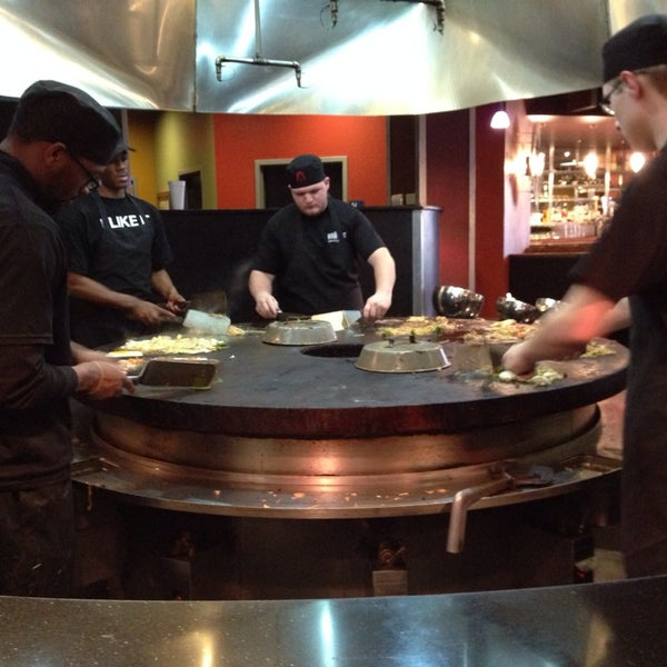 Photo taken at HuHot Mongolian Grill by Feras S. on 3/16/2014