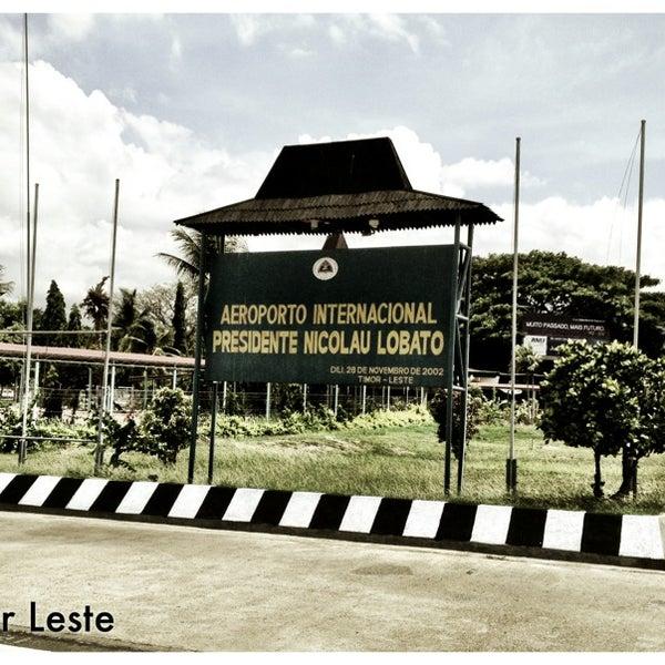 Aeroporto Comoro : Presidente nicolau lobato international airport dil comoro