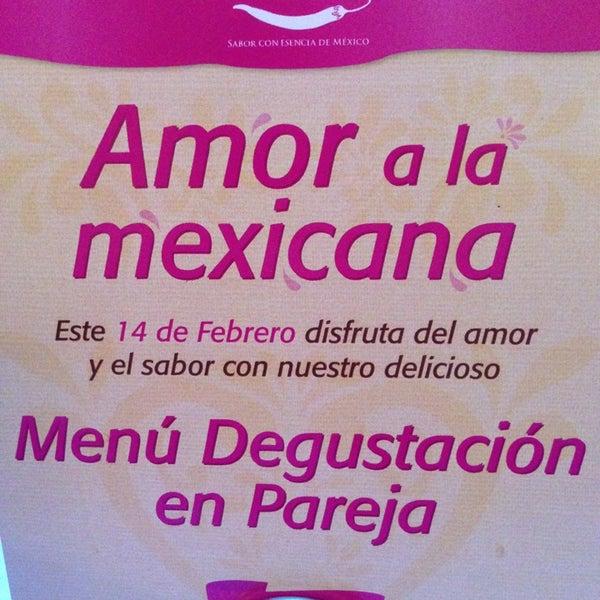Photo taken at Fonda Mexicana by Ady S. on 2/14/2013