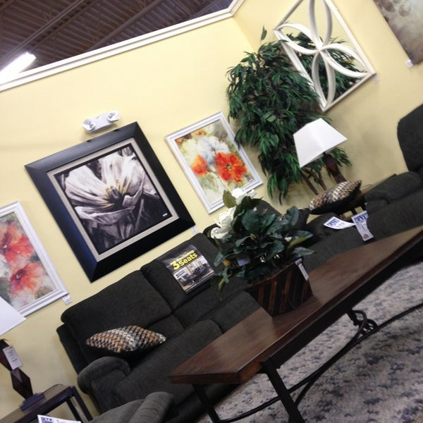 Photo Taken At Ashley Home Furniture By Ian M. On 1/6/2013