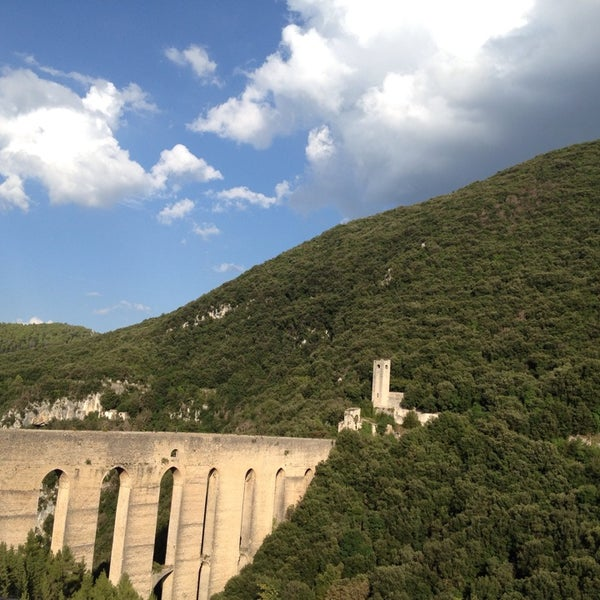 Photo taken at Ponte Delle Torri by Caroline-Yvonne S. on 8/22/2014
