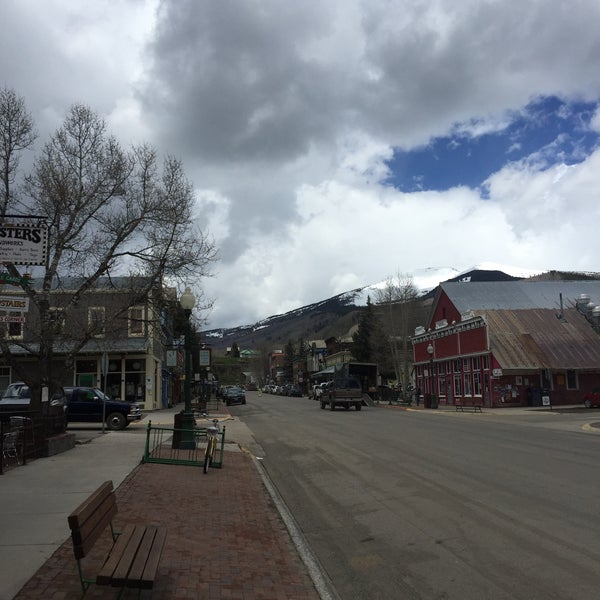 Photo taken at Crested Butte, CO by Breck B. on 5/27/2015