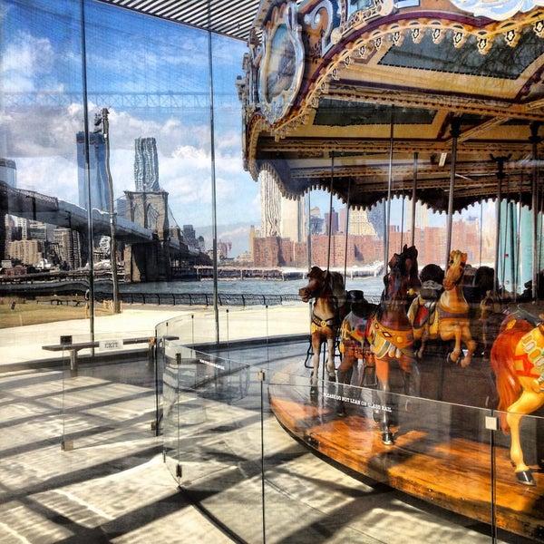 Photo taken at Jane's Carousel by Alex C. on 10/4/2015