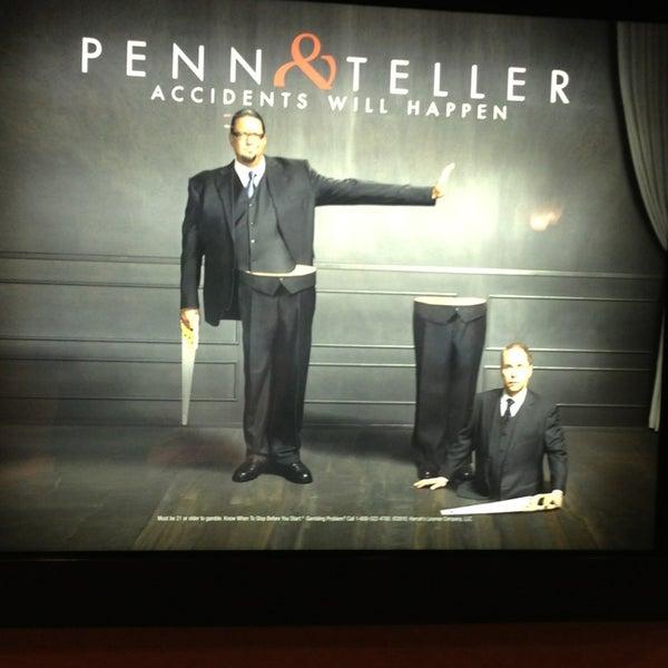 Foto tomada en Penn & Teller Theater por Carey R. el 7/4/2013