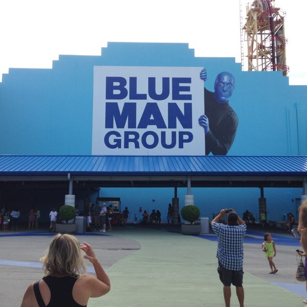 Photo taken at Blue Man Group at Universal CityWalk by Seth K. on 7/10/2013