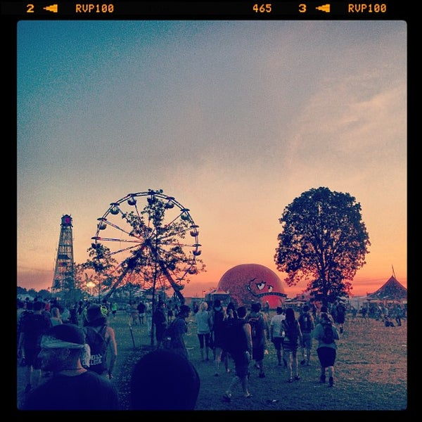 Photo taken at Bonnaroo Music & Arts Festival by Pete B. on 6/15/2013