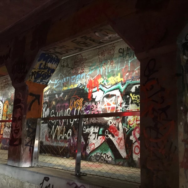 Photo taken at Krog Street Tunnel by Matt D. on 11/21/2017