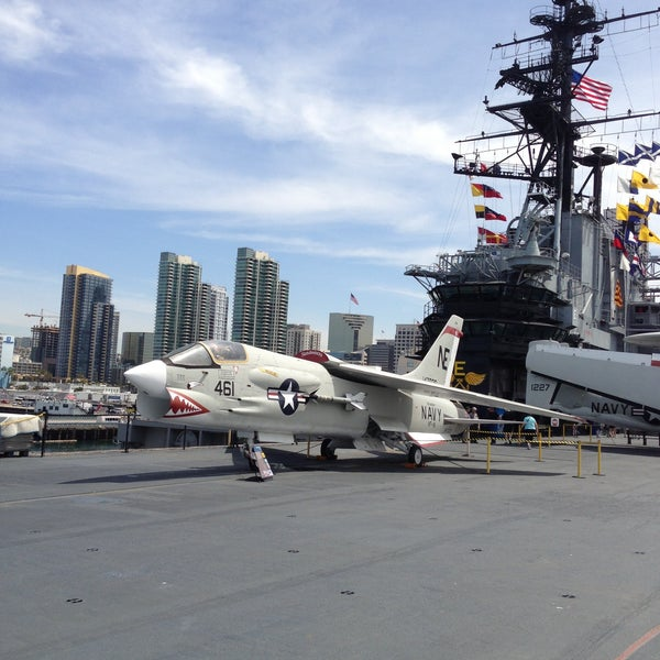Photo taken at USS Midway Museum by Markell B. on 5/3/2013