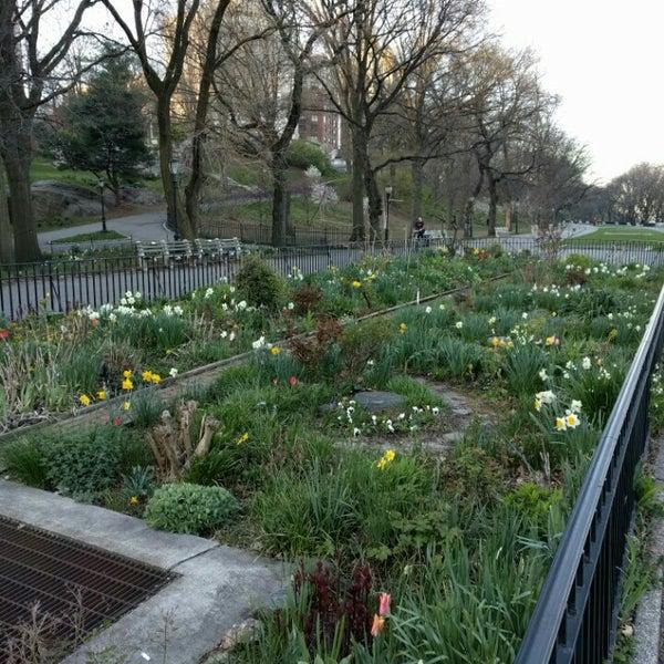 Photo Taken At Riverside Park   91st Street Garden By Fred W. On 4/