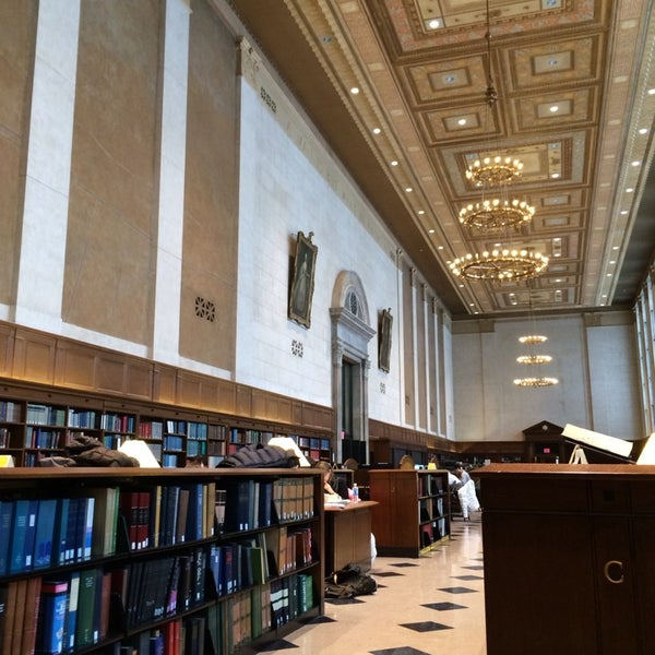Photo taken at Butler Library by Mo F. on 1/26/2014