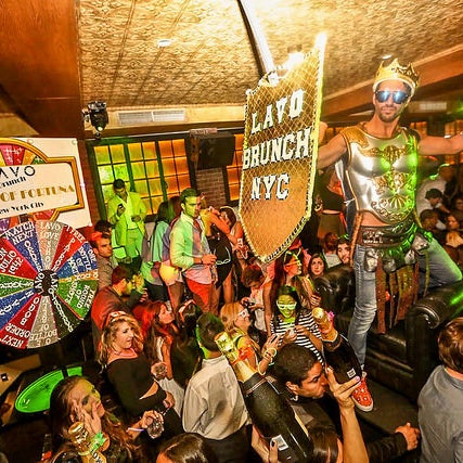 Voted Best Party Brunch 2015 by Bitches Who Brunch.