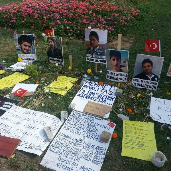 7/16/2013にtaygun u.がTaksim Gezi Parkıで撮った写真