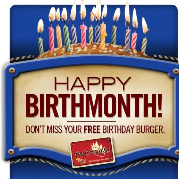 This is a compiled list of restaurants that give you a free birthday meal, no restaurant coupons should be necessary. This page has been extremely popular and I want to thank all the generous readers who have helped added to this list.