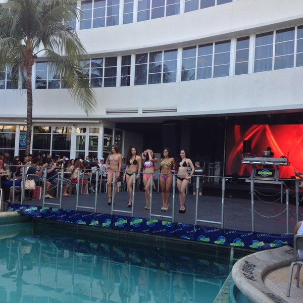 Photo taken at Clevelander South Beach Hotel and Bar by Scott S. on 3/30/2013