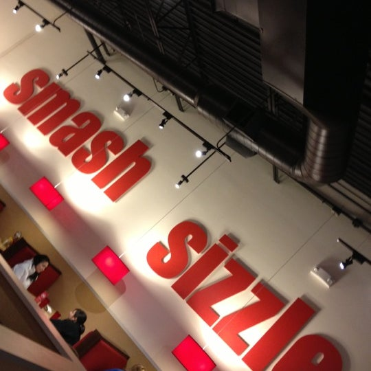 Photo taken at Smashburger by Rob S. on 11/12/2012