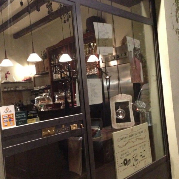 Photo taken at Osteria del Sognatore by Giacomo B. on 3/1/2013