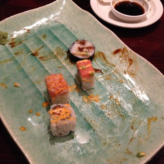 Photo taken at Sushi On The Rocks by Courtney P. on 11/21/2012