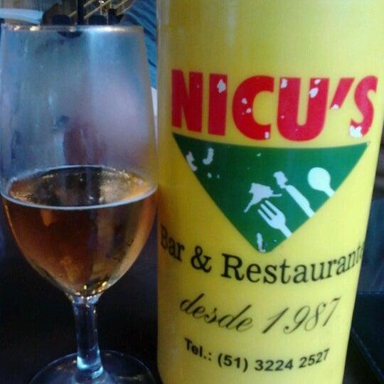 Photo taken at Nicu's by Rodrigo on 10/21/2012