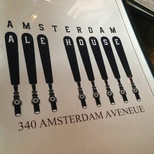 Photo taken at Amsterdam Ale House by Stephany R. on 5/17/2013