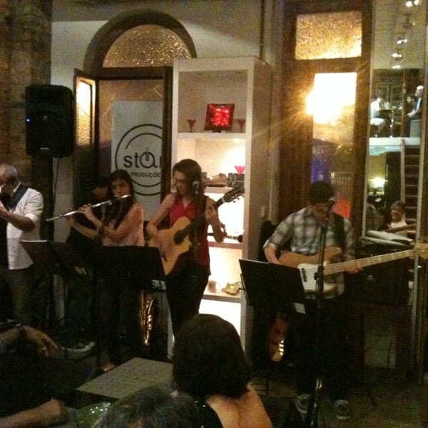 Photo taken at Gracioso Café Bistrô by Marisa P. on 5/26/2013