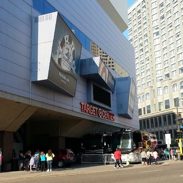 Photo taken at Target Center by Gyan on 7/20/2013