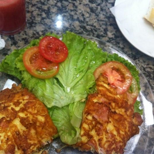 Photo taken at Mondego Padaria & Restaurante by Queila M. on 10/8/2012