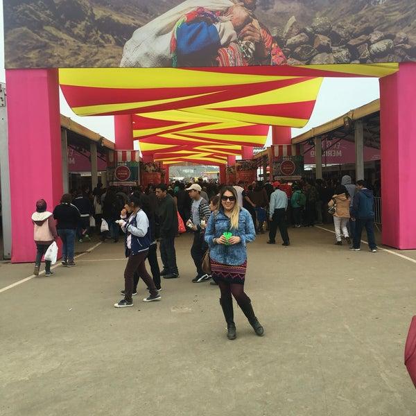Photo taken at Mistura Perú by Elsi L. on 9/11/2016
