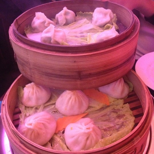 Photo taken at Shanghai Café Deluxe by Veena T. on 11/18/2012