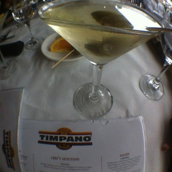 Photo taken at Timpano Italian Chop House by Chris V. on 1/19/2013