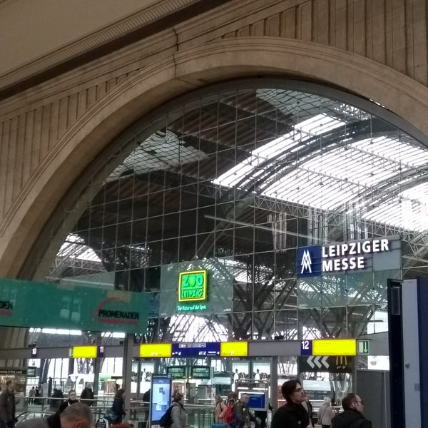 Das Foto wurde bei Promenaden Hauptbahnhof Leipzig von Sven G. am 3/12/2018 aufgenommen