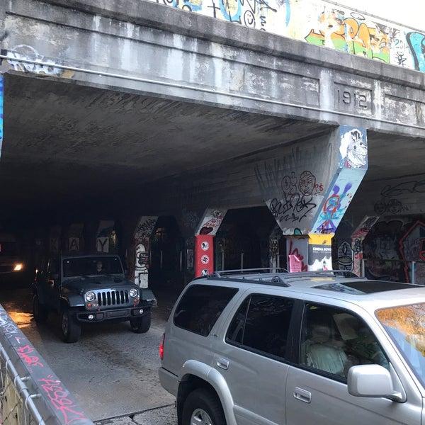 Photo taken at Krog Street Tunnel by Saintvictoria on 10/17/2017