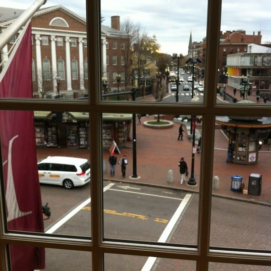 Photo taken at Harvard Coop Society Bookstore by Celena M. on 11/24/2012