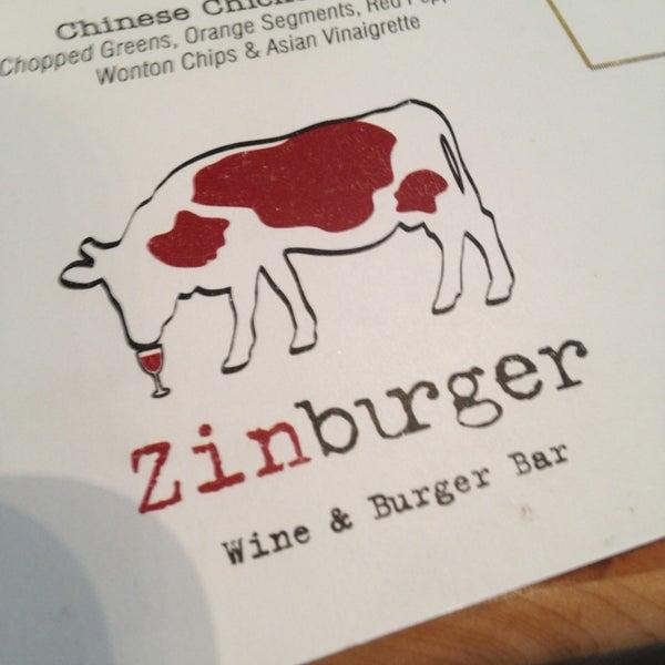 Photo taken at Zinburger by Joeh on 2/22/2013