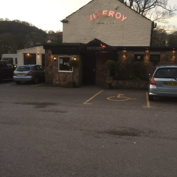 Viceroy Restaurant Bollington Menu